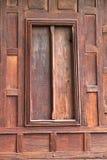 木窗口 库存照片