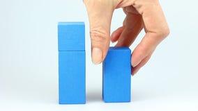 木立方体减退概念 股票录像