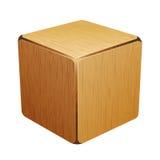 木立方体 配件箱 向量例证