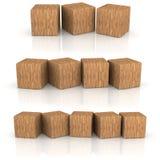木立方体 免版税库存图片