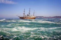 木筏海洋 库存图片