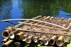 木筏 免版税库存图片