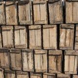 木箱 免版税库存照片
