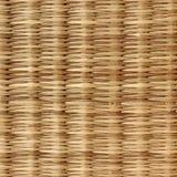 木篮子纹理 免版税库存照片