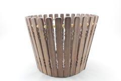 木篮子 免版税库存图片