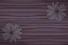 木纹理云母花卉背景 库存图片