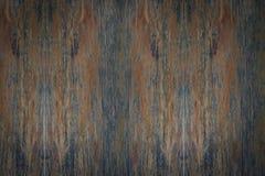 木纹理木板条黑暗的木头 库存图片