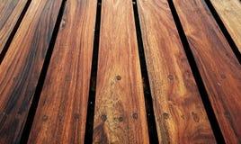 木纹理板条五谷背景、木书桌桌或者地板 免版税图库摄影