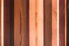木纹理板条五谷背景、木书桌桌或者地板 库存照片