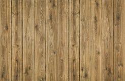 木纹理板条背景,布朗木篱芭,橡木板条 免版税库存照片
