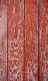 木纹理板条背景,红色 库存图片
