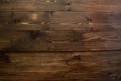 木纹理桌 库存图片