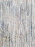 木纹理背景,户外桌特写镜头  垂直的板条 表面有两个部分 免版税库存图片