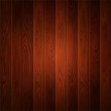 木纹理褐色垂直背景 免版税库存照片