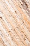 木纹理,墙壁,地板由自然木头,板制成有品质差处理,许多纤维和结 库存图片