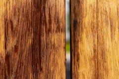 木纹理,委员会之间的空白 库存图片