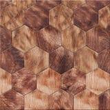 木纹理,摇摆的木条地板 免版税库存图片