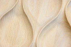 木纹理 光滑的弯曲的线从木头被雕刻 库存照片