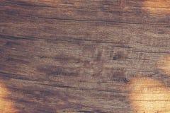 木纹理 木书桌在家 免版税图库摄影