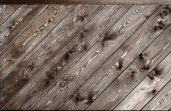 木纹理 背景对角老盘区 免版税图库摄影