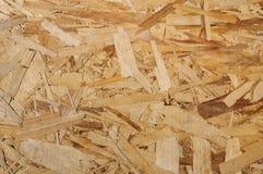 木纹理 背景装饰的Osb木委员会 免版税库存照片