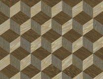 木细致的镶嵌细工模式的纹理 皇族释放例证