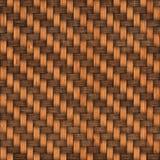 木织法纹理背景 抽象背景篮子装饰例证模式无缝织地不很细向量编织木 无缝的模式 图库摄影
