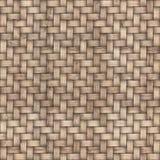 木织法纹理背景 抽象背景篮子装饰例证模式无缝织地不很细向量编织木 无缝的模式 免版税图库摄影