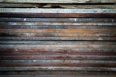 木老的墙壁 免版税库存图片