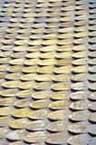木老的屋顶 免版税库存图片