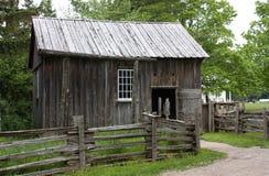 木老的棚子 免版税图库摄影