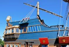 木老的船 免版税库存照片