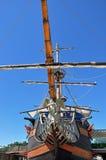 木老的船 库存图片