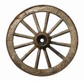 木老的轮子 免版税库存照片