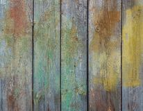 木老纹理的墙壁 免版税库存图片