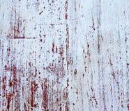 木老被绘的纹理的墙壁 免版税库存照片