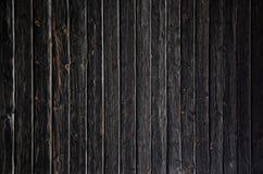 黑木背景或纹理 库存照片