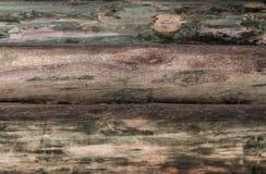 木背景日志风化了用一个大计划eco自然样式没盖 图库摄影