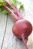 木背景的甜菜根 库存图片