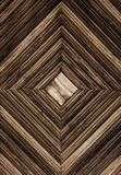 木背景 几何木背景 以正方形的形式木板条 库存图片