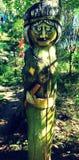 木艺术 库存图片