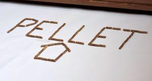 木药丸燃料五谷的图象在白色背景套用信函和家的 免版税库存照片