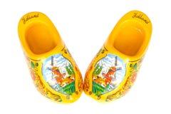 木荷兰语的鞋子 免版税库存图片
