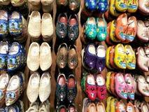 木荷兰语的鞋子 免版税图库摄影