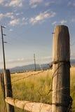 木蓝色国家(地区)门的天空 库存图片