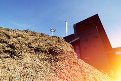 木蓝色燃料天空的存贮 图库摄影