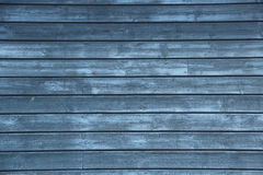 木蓝色的墙壁 免版税图库摄影