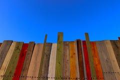 木蓝色范围的天空 免版税图库摄影