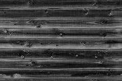 木衬里上墙壁 黑,灰色木纹理 背景老盘区,无缝的样式 水平的板条 免版税库存图片