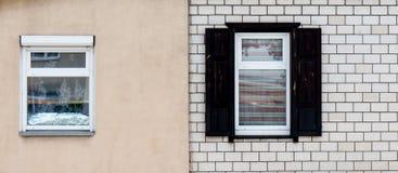 木视窗 免版税库存照片